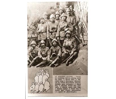 D&K-ATATÜRK-3 NCÜ KOLORDU ERKANI İLE 1915