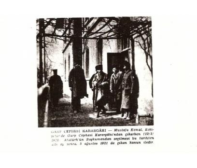 D&K-ATATÜRK-ESKİŞEHİRDE GARP CEPHESİNDE 1921