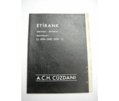 D&K--ETİBANK A.C.H. BANKA CÜZDANI