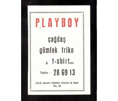 D&K-PLAYBOY GÖMLEK TRİKO REKLAMI