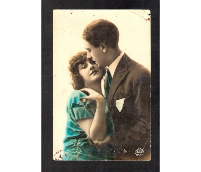 D&K--ROMANTİK GENÇ AŞIKLAR KARTPOSTAL