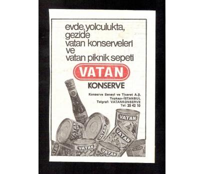 D&K-VATAN KONSERVE REKLAMI