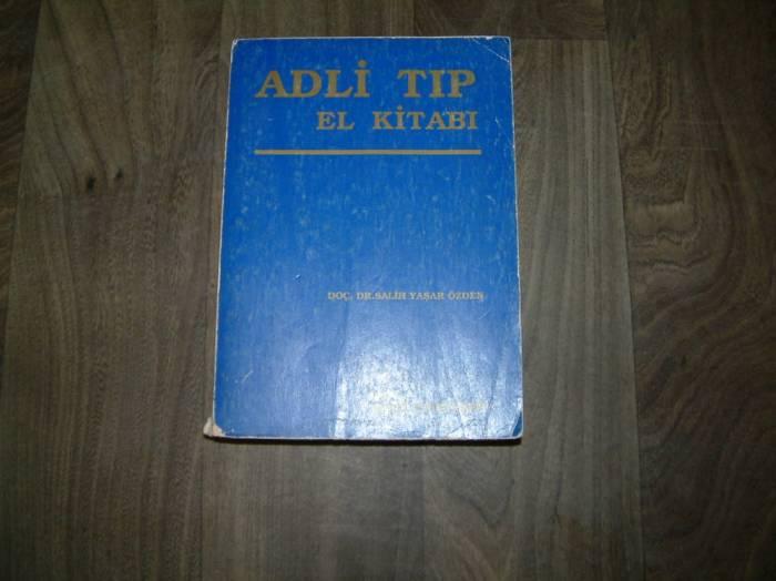 ADLİ TIP EL KİTABI SALİH YAŞAR ÖZDEN - 1989 1