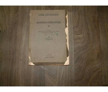ALMANCA DERS KİTABI VI MAARİF MATBAASI - 1942