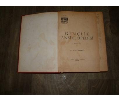 GENÇLİK ANSİKLOPEDİSİ 2. CİLT BAKİ KURTULUŞ-1959