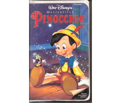 İLKSAHAF&PINOCCHIO-MASTERPIECE-İNG.VHS