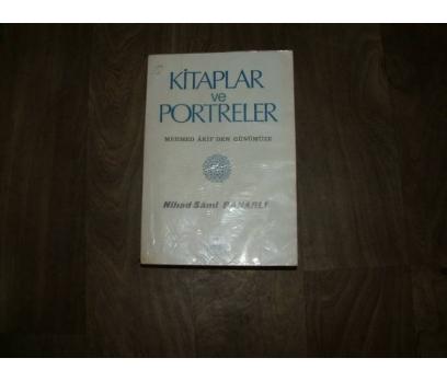 KİTAPLAR VE PORTRELER NİHAD SAMİ BANARLI -1985
