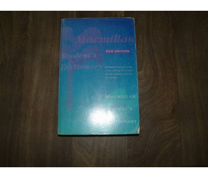 MACMILLAN STUDENTS DICTIONARY NEW EDITION