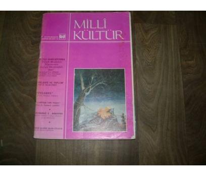 MİLLİ KÜLTÜR DER. S. 73 - 1990 TOPLU SORUŞTURMA