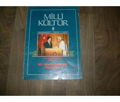 MİLLİ KÜLTÜR  S. 89- 1991 İSTANBULDA ŞİİRLİ GÜNL
