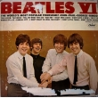 BEATLES VI,  LP TEMİZ