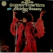 SHIRLEY BASSEY, 20 GOLDEN FILM HITS, LP TEMİZ